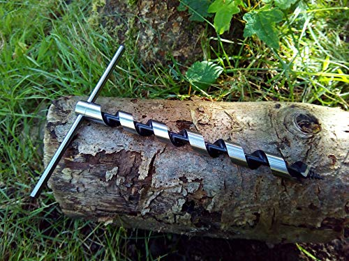 Scotch Eyed T-Schlangenbohrer für Bushcraft & Survival Trapping para-Seil Polyseil