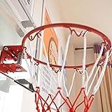 ranninao Juego de Aros de Baloncesto de Pared Mini para Interiores - Aro de Baloncesto con Bola y Bomba para Oficina, Dormitorio y hogar, un Gran Regalo para los Amantes del Baloncesto Manner