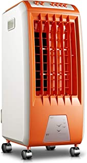 Ventilador del aire acondicionado, solo refrigerador de aire frío portátil del hogar, naranja 65W