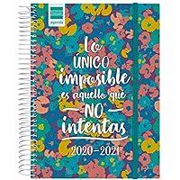 Finocam - Agenda Curso 2020-2021 Cuarto-155 x 212 1 Día Página Secundaria Imposible Español