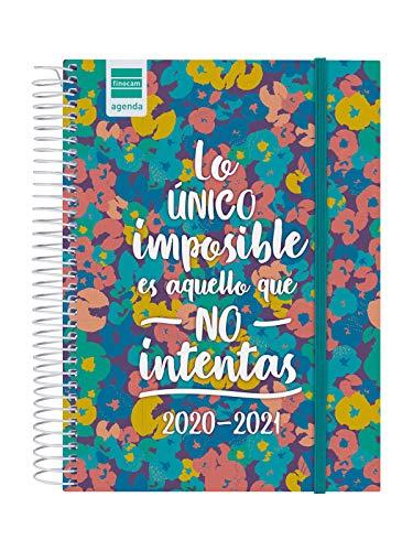 Finocam - Agenda Curso 2020-2021 Cuarto - 4º - 155 x 212 mm (Sobremesa) 1 Día Página Secundaria Imposible Español