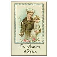 Holy Note Card (Large Hard)- St. Anthony