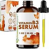 Vitamin B3 Serum Niacinamid 5% - Premium Nature Feuchtigkeitspflege Serum Gesicht Gesichtscreme Anti Falten Anti Akne Narben & Altersflecken Augencreme Collagen Booster Gegen Pickel Poren...