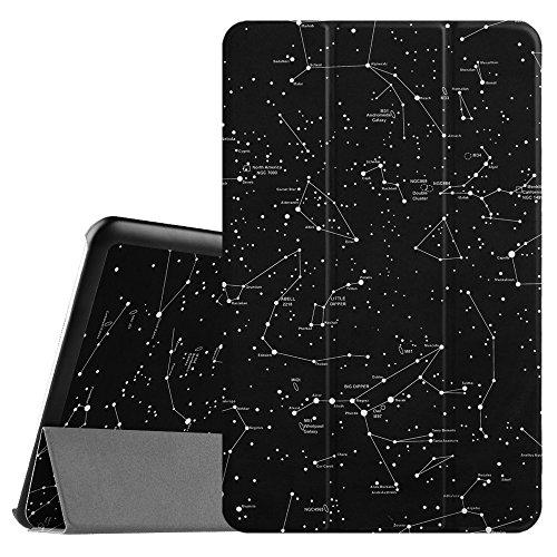 Fintie Samsung Galaxy Tab E 9.6 Hülle Case - Ultra Schlank Superleicht Ständer SlimShell Cover Schutzhülle Etui Tasche für Samsung Galaxy Tab E T560N / T561N 24,3 cm (9,6 Zoll) Tablet-PC, Sternbild