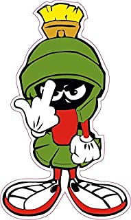 Marvin The Martian F You Small Decal 3
