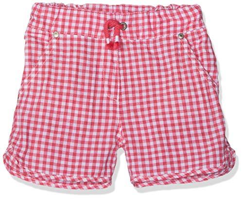 Steiff Steiff Mädchen Shorts, Mehrfarbig (Y/D Check|Multicolored 0002), 116