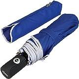 iX-brella Reflect XL – Sicherheitsschirm mit Reflektoren 104cm Durchmesser - Blau