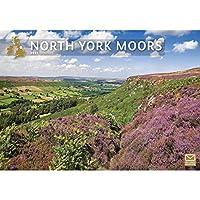 North York Moors A4 カレンダー 2021