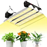 SZHLUX LED Grow Light 4×4ft Coverage 4000W Full Spectrum Growing Lamp for Indoor Plants, Linkable Plant Lights for Hydroponic Indoor Seeding Veg and Bloom Greenhouse Growing Light Fixtures