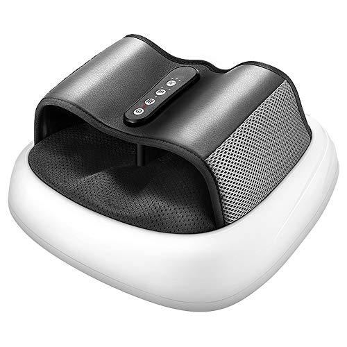 ZTKBG Voetmassage-apparaat met warmte, massagevoetmassage met acupressuur, draagbaar, voor ontspanning en stress voor thuis en op kantoor