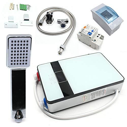 6.5KW 220V Elektrische Digital Durchlauferhitzer Tankless Dusche Warmwasser Set tragbare