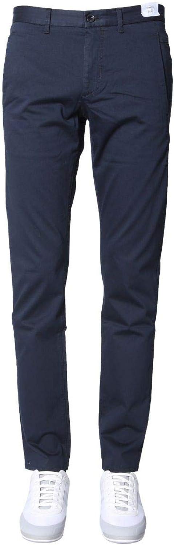 BOSS ATHLEISURE Men's 5039991110165966410 blueee Cotton Pants