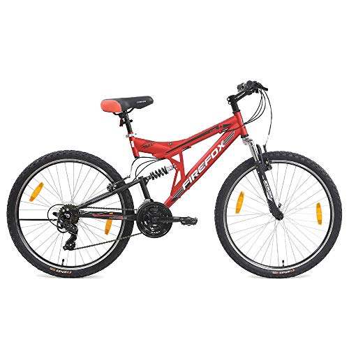 Firefox Bikes Tank 26, 21 Speed Mountain Bike (Matt Red/Black)