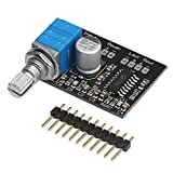 DROK Super Small 3W+3W DC 5V Audio Amplifier Handy Digital Power Amp Module Board Dual-Channel PAM8403 Stereo Amplifiers with Potentiometer for DIY Portable