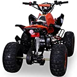 Kinder Quad 125 ccm orange/weiß Panthera - 9