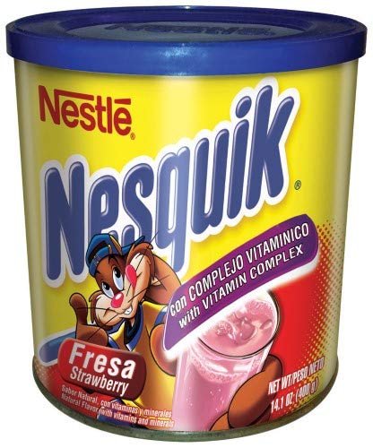 Nestle Nesquik Powdered Drink, Strawberry (Pack of 2)