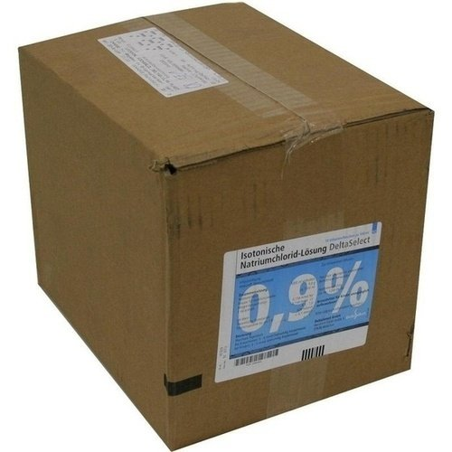 KOCHSALZLÖSUNG 0,9% Plastikfl. 10X500 ml