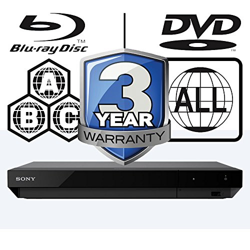 Sony - Lettore Blu-ray, REP multizona