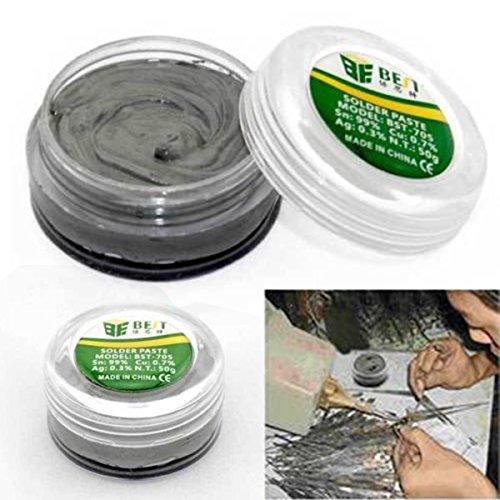 Pasta adhesiva fuerte sin plomo para soldadura de pasta de soldar de 40 g para PCB BGA PGA SMD< Mantenimiento de teléfonos móviles
