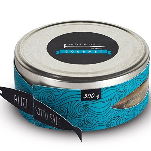 Alici sotto sale 200 Gr. - Acqua Pazza Gourmet