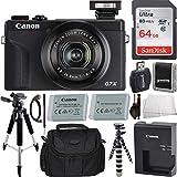 Canon PowerShot G7 X Mark III Digital Camera (Black) with...