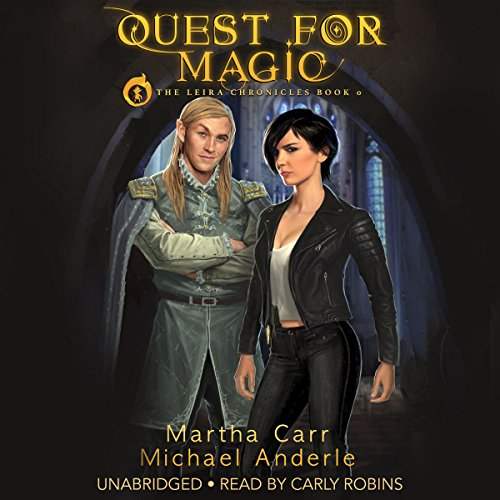 Quest for Magic audiobook cover art