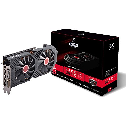 Price comparison product image XFX GTS XXX Edition RX 580 4GB OC+ 1386MHz DDR5 w / Backplate 3xDP HDMI DVI RX-580P427D6