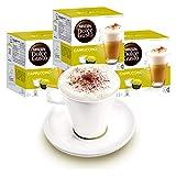 Nescafé Dolce Gusto - Juego de 3 Tazas con Vaso, Capuchino, café con Leche, cápsulas de café, cápsulas de café y cápsulas