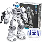 Toys for 6-10 Year Old Boys Girls, Remote Control Robot Gifts for Kids, Rechargeable Intelligent Programmable Robot Toys with 2.4GHz Gesture Sensing, Christmas Birthday Presents for Kids Age 6 7 8 9