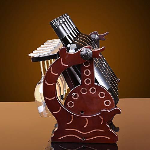LXD Estantes de Vino, Mecedora de la Silla de Mecedora Madera Iza Cabina de Vino Creativo Decoración de la Sala de Estar Restaurante Cocina Casa Práctica