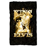 Elvis Presley - TCB - The King - Fleece Throw Blanket