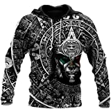 BEAUTIFUL AZTEC WARRIOR MEXICAN All Over Printed 3D Hoodie, Zip Hoodies, Sweatshirt, T- shirt For Men And Women