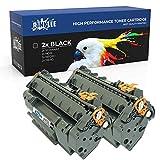 RINKLEE Q5949A Q7553A CRG 715 708 2 Cartuchos de Toner Compatible para HP Laserjet 3390 3392 1160 1320 1320n 1320tn 1320nw M2727nf M2727nfs P2014 P2015 P2015d P2015dn Canon i-SENSYS LBP3300 LBP3310