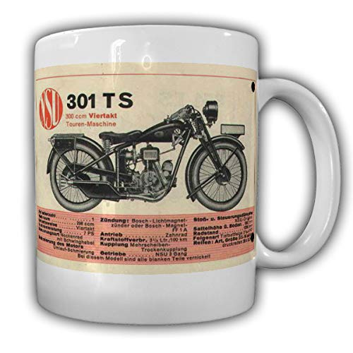 NSU 601 TS mok motorfiets accessoires Motosport Vintage motorkleding #26219