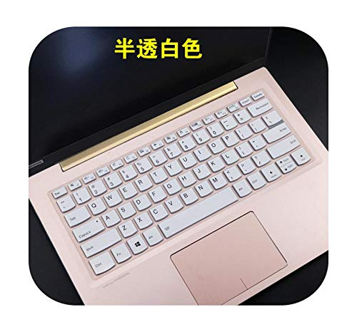 for Lenovo Ideapad s540-13 S340-13 s340-13IML s540-13IML S540 s340 13iml 13 inch laptop silicone Keyboard Cover Skin-white-