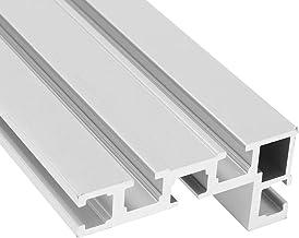 LMIAOM 800mm 75 Tipo T-Slot Aleación de aluminio Soporte de carpintería universal Banda sierra Respaldo Accesorios de hardware Herramientas de bricolaje