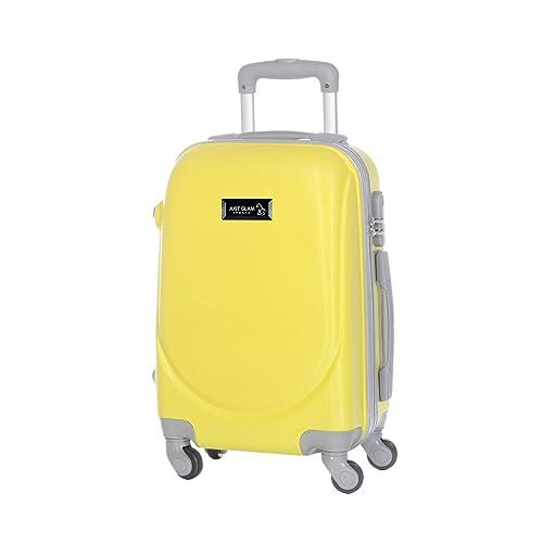 Maleta cabina 4 ruedas trolley cascara dura adecuadas para vuelos de bajo coste