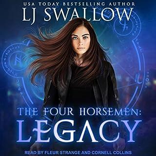 The Four Horsemen: Legacy     Four Horsemen Series, Book 1              Autor:                                                                                                                                 LJ Swallow                               Sprecher:                                                                                                                                 Cornell Collins,                                                                                        Fleur Strange                      Spieldauer: 3 Std. und 41 Min.     2 Bewertungen     Gesamt 4,0