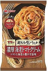 [冷凍] 日清フーズ マ・マー 超もち生パスタ 濃厚海老トマトクリーム 275g