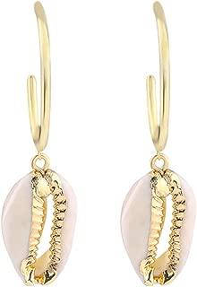 Marine Shell Earrings,Vintage Drop Dangle Earrings,Best Jewellery Gift for Ladies,Clear