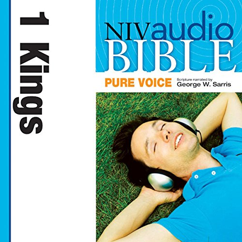 NIV Audio Bible, Pure Voice: 1 Kings audiobook cover art
