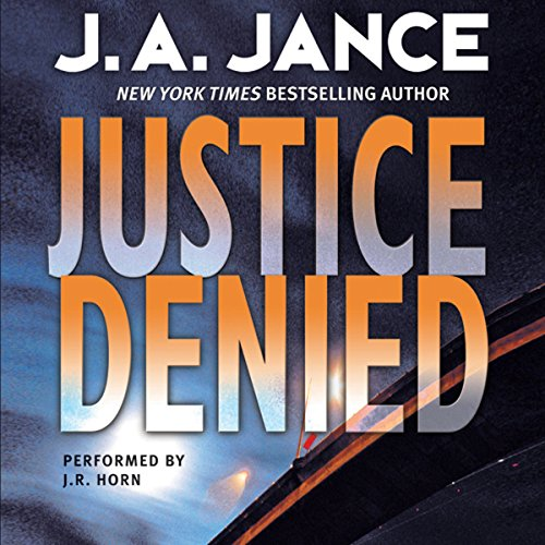 Justice Denied audiobook cover art
