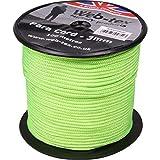 Web-tex Paracord Rullo da 100 Metri da 3 mm - Verde Fluo...