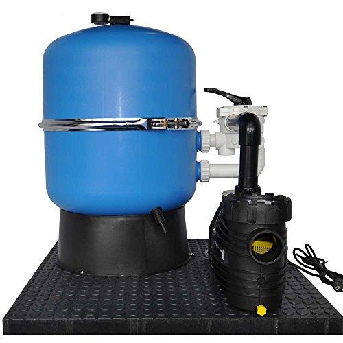 Sandfilteranlage OKU Hawaii Ø 500 mm mit Aqua Plus 8 230 Volt Pumpe