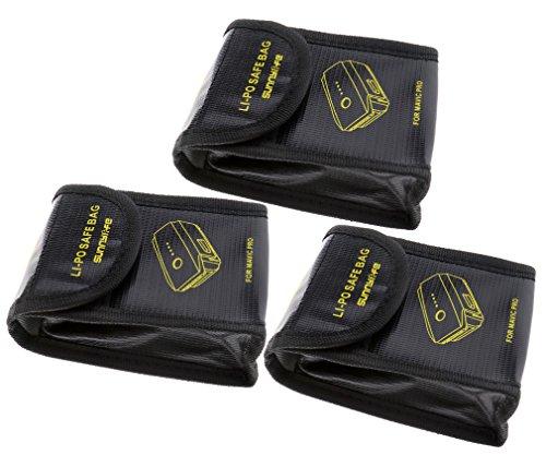DJI Mavic Pro- 1/2/3unidades Bolsa batería antiexplosión