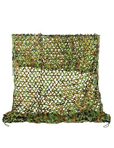 WY-camo Rollo de Malla de Camuflaje Militar, 2M × 3M Piel de Oxford para Acampar, de Estilo y Soporte de Rejilla para Camuflaje. Decoración de Fiesta del Tema Cubiertas de Coche (Size : 8m×8m)