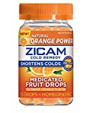 Zicam Cold Remedy Zinc Medicated Fruit Drops, Ultimate Orange, 25 Count (Pack of 1)