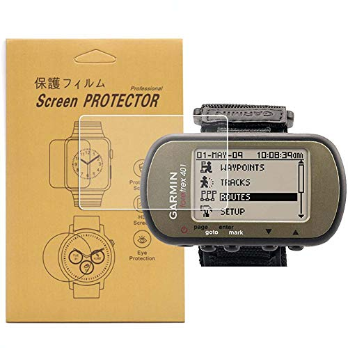 [3-Pcs] For Garmin Foretrex 401/301 GPS Screen Protector,Full Coverage HD Clear Anti-Bubble and Anti-Scratch Foretrex 301