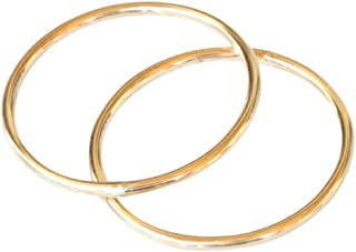 14k Gold Filled Double 1mm Thin Band Toe Rings