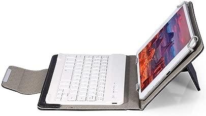 Tastatur Tastaturkoffer 10-Zoll-Slim-Shell-Schutzh lle aus magnetischem PU-Leder mit abnehmbarer Bluetooth-Ergonomietastatur und St nder for iOS- Android- Windows-Tablet-iPad Geeignet f r alle Co Schätzpreis : 15,72 €